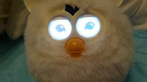 Furby 2012 white is Dancing
