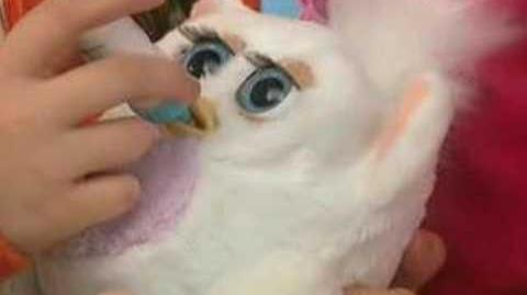 Russian Furby Baby Commercial