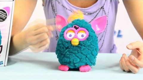 Sociable Furby Punk Towarzyski Furby Punk - Niebieski Teal Pink - Cool - Hasbro