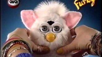 Furby, Zainetto e Lettino - Pubblicità 1999