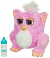 Pink Emoto-Tronic Furby Baby