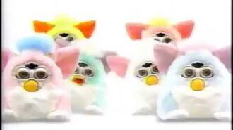Japanese Furby Babies Commercial (From Around April 2000)