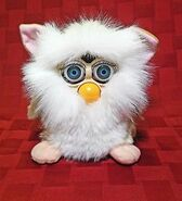 """Furby-Fake-Clone-Knockoff-""""Poobee""""-White-And-Cream"""