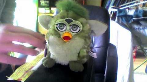 Furby - gadająca zabawka