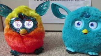 Furby Connect and Furby Crystal Comparison and Interaction