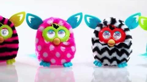 Demo Furby Boom - 2013 - Interactive Plush - Hasbro - www.zabawkoland.com - sklep z zabawkami
