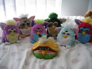 Furby 1998 and shelby