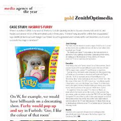 Furby case study from<i> Strategy</i> (October, 2006)