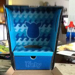 Empty Furby Boom box