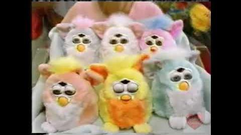 Furby Babies Television Commercial 2000 Tiger Electronics
