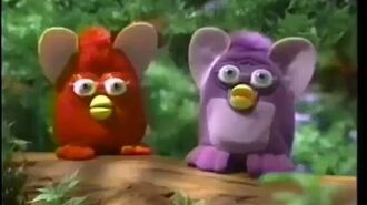 Furby mcdonalds commercial japanese