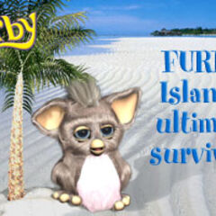 another online postcard from the official Furby website from 2005