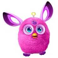 A purple Furby Connect