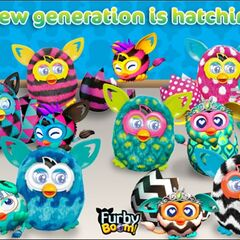 Furby Boom App Advertisement