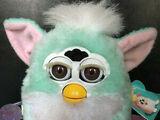 Mint Green Furby Baby
