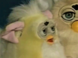 Yellow Furby Baby (prototype)