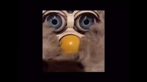 Extremely rare unknown furby fake (not mine) (UPDATE ITS FOOBY!)