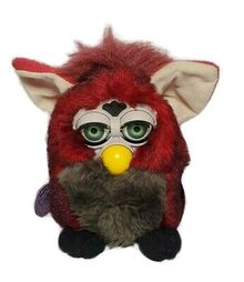 Furby-vintage-Model-70-800-Rare-Red-Wolf-Series