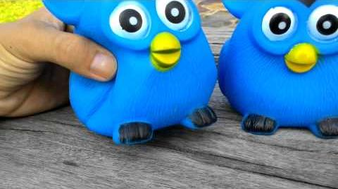 Twin Furby Rubber Dolly Collections Kids Sand BToy