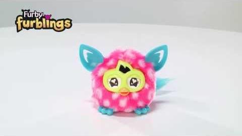 Demo - Furby Furblings Creature - Hasbro 2014