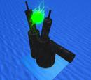 Undersea Uvarovite Unity Dropper