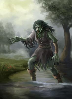 Green hag | Officialbestiary Wiki | FANDOM powered by Wikia