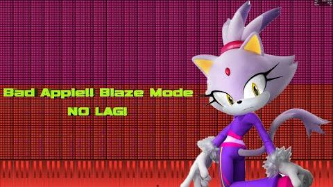 -Black MIDI- Piano From Above - Bad Apple!! Blaze Mode - NO LAG! ~ Merged by Dmitry's Music