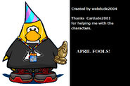 End Credits April Fools