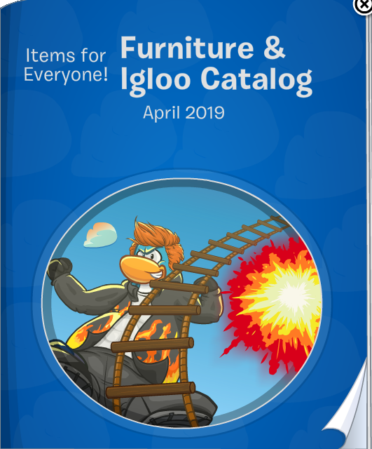 Furniture and Igloo Catalog April 2019 | Club Penguin Online
