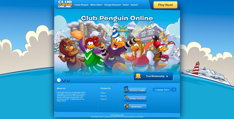 User blog:QueenBadgerCP/New Homepage for Club Penguin Online