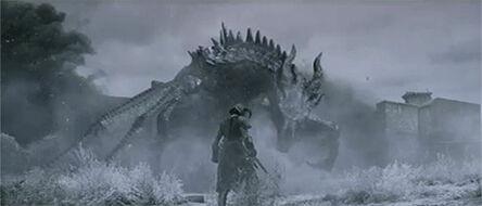 Alduin Vs Dragonborn