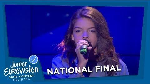 MARIANA VENÂNCIO - YOUTUBER - PORTUGAL 🇵🇹 - NATIONAL FINAL - JUNIOR EUROVISION 2017