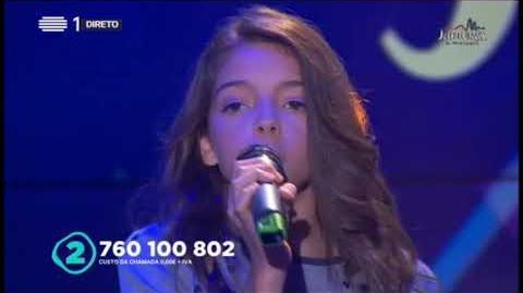 Junior Eurovision 2017 - Portugal - Youtuber - Mariana Venâncio (with Lyrics)