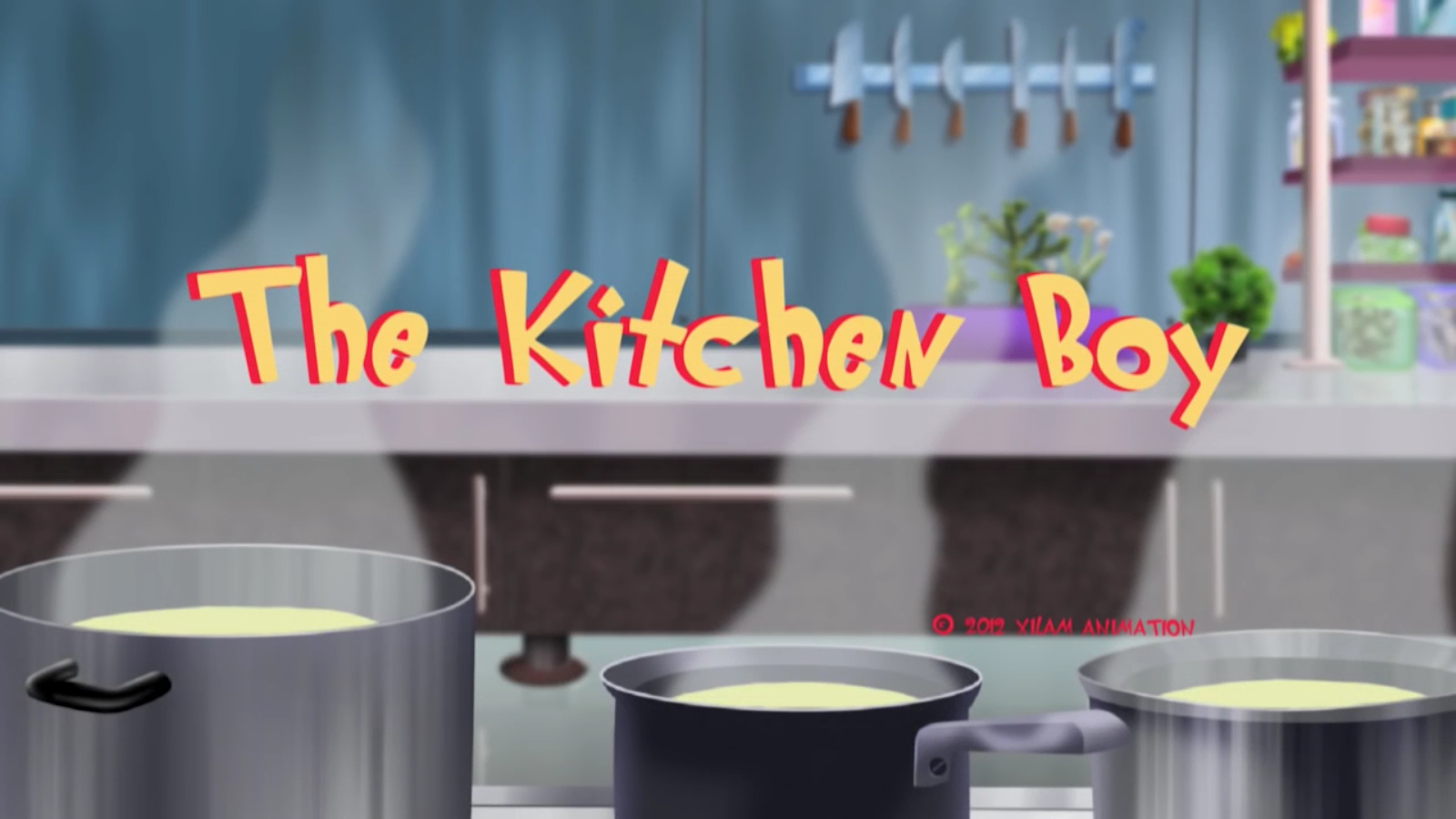 Image - Kitchen Title.png | Oggy and the Cockroaches Wiki | FANDOM ...