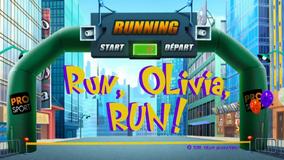 Run Olivia Title