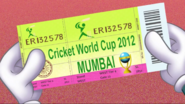Cricket Ticket