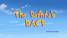 Bathtub Race Title