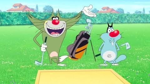 Oggy and the Cockroaches - The mini golf war (S3E23) Full Episode in HD