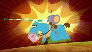 Knight Marky on a Horse
