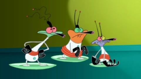 Oggy and the Cockroaches Space Roaches episode