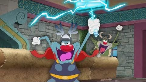 (NEW SEASON 5) Oggy and the Cockroaches ⚡ The Lord Of Lightning ⚡ (S05-E30) THOR