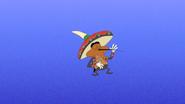 Cucaracha dancing