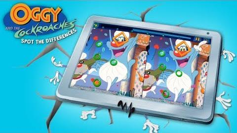 Oggy and the Cockroaches - 📱SPOT THE DIFFERENCES 📱- Launch Trailer 🎲