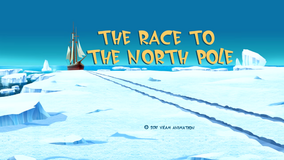 The Race To The North Pole Title