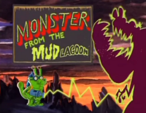Title Monster From The Mud Lagoon