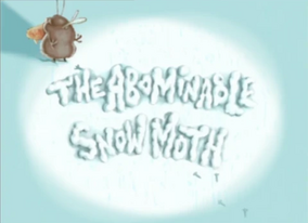 Snow Moth Title