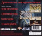 LuCT PS1 Game Backside