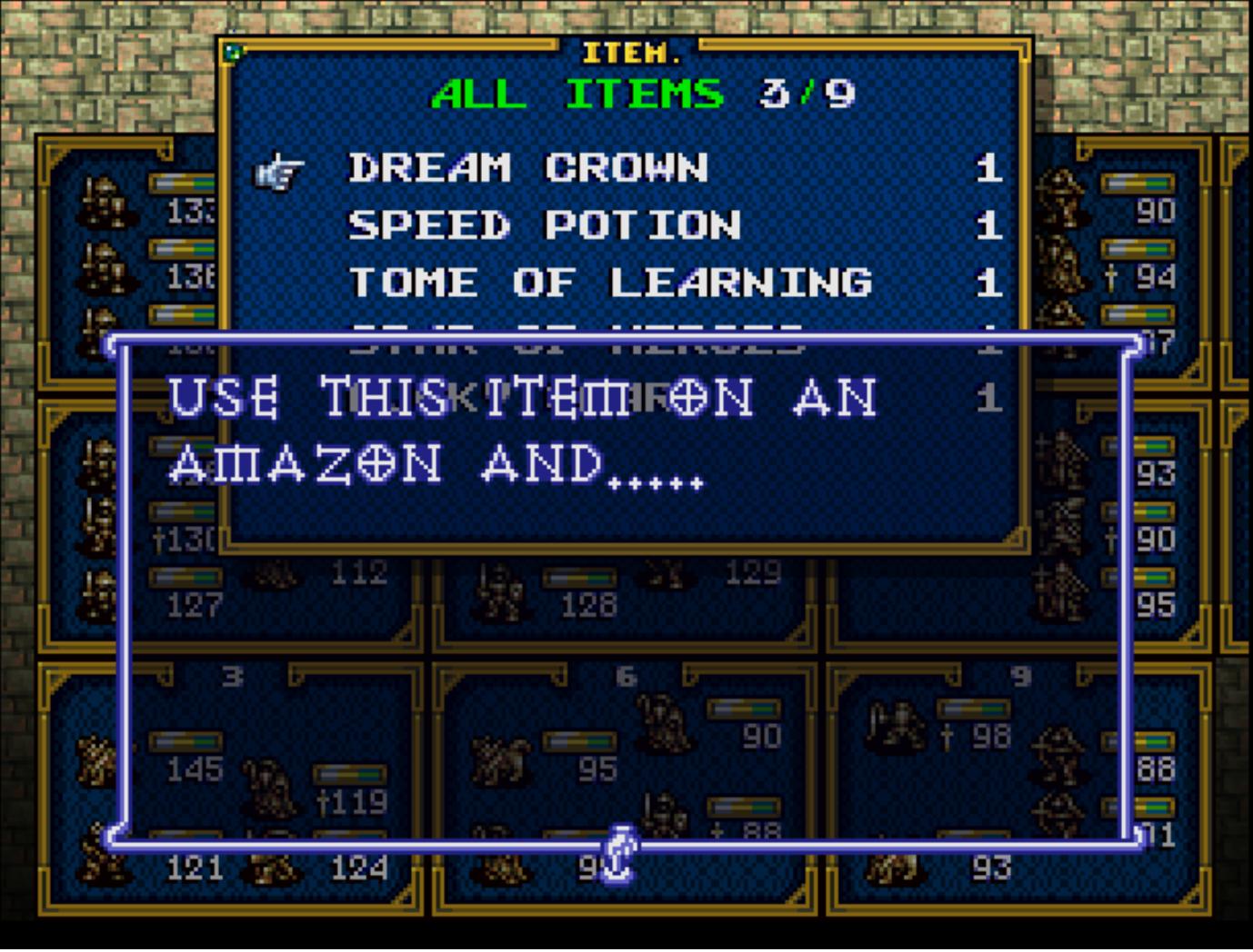Dream Crown | Ogre Battle Saga Wiki | FANDOM powered by Wikia