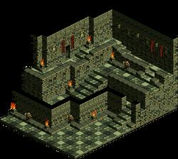 Banisha Castle - Hallway