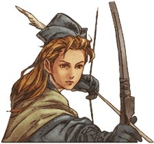 LUCT PSP Female Archer Profile